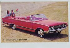 Vintage 1964 Mercury Park Lane Convertible Car Automobile Factory Postcard