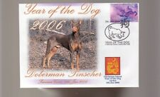 DOBERMAN PINSCHER 2006 YEAR OF THE DOG STAMP COVER 1