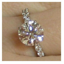 0.47 Ct Untreated Diamond Solitaire Engagement Ring 14K Solid Gold  @ No Reserve