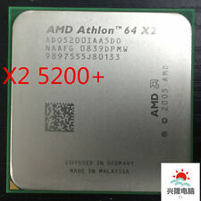 64 X2 5200+ x2 5200+ 2.7Ghz 1MB Cache AM2 socket 940 pin Dual core CPU processor
