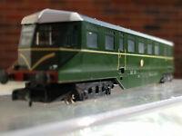 Graham Farish 371-625A GWR diesel Railcar W30W BR Brunswick Green N Gauge BNIB