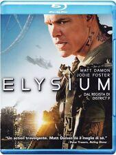 Blu Ray ELYSIUM - (2013)  *** Matt Damon & Jodie Foster *** ......NUOVO
