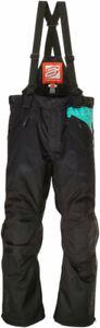 Arctiva Women's 2020 LAT48 Insulated Waterproof Bibs/Pants (Black/Mint)