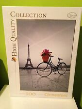 PUZZLE CLEMENTONI 500 -ROMANTIC PROMENADE IN PARIS-