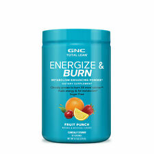 Gnc Total Lean Energize and Burn, Fruit Punch, 30 Servings, Fuels Energy and