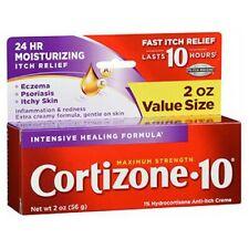 Cortizone-10 Hydrocortisone Anti-Itch Intense Healing F