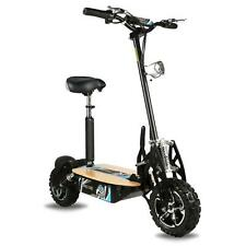 Adult Pro XS Electric Scooter - Black 1600W 48V Wood Deck & Lighting