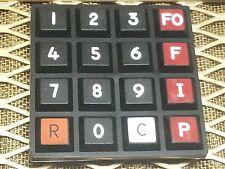 Star Dynamic Military Telephone CA-67A/U TA-838A/TT OU-178/TCC Switch Keypad 331