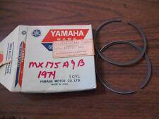 NOS 1974-1975 Yamaha MX175 .75 Piston Rings 455-11610-30