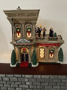 Dept 56 THE REGAL BALLROOM 799942 CHRISTMAS IN THE CITY Limited Edition RARE!