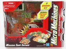 Micro Machines MISSION TANK TERRAIN   Tank Play Set  NEW