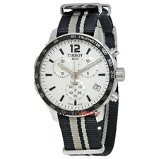 Tissot Quickster Chronograph Silver Dial Men's Watch T0954171703710