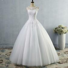 Real Photo Ball Gown Wedding Dress with Lace Cheap Bridal Gown In Stock