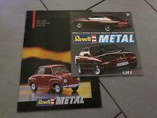 1:18 1:24 1:43 1:64 REVELL Lotto 2 Cataloghi Brochure Automodelli lim Edition
