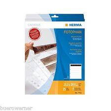 HERMA 7762 Negativhüllen Diahüllen 7x6 Negative klar 25 Hüllen