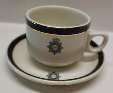 West Yorkshire Metropolitan Police Cup and Saucer Great Shape Made in England