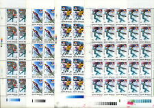 "8 FULL SHEETS=25 COMPLET SET/ ROMANIA 1992 WINTER OLYMPICS ""ALBERTVILLE"" MNH"