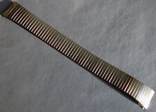 EASY READER Timex Stainless Steel Expansion 18mm Yellow Gold Tone Watch Band