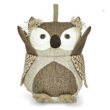 Laura Ashley Tweed OWL Doorstop - Needs a home- NEW