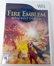 Fire Emblem: Radiant Dawn Nintendo Wii Brand New Factory Sealed!