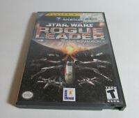 Star Wars: Rogue Leader - Squadron II 2 Nintendo GameCube Complete CIB Game READ