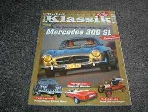 Motor Klassik Zeitschrift Heft 1/2000 Mercedes 300 SL