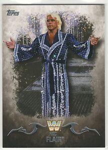 2016 Topps WWE Undisputed #81 Ric Flair * WCW * NWA * Legend * Wrestling *