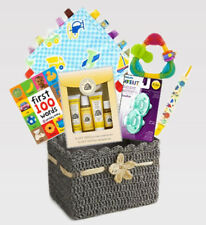 Baby Essentials Gift Basket- Best of Everything- Burt's Bees, Nuby.