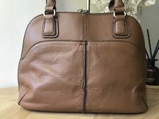 Tignanello genuine leather medium handbag tote bag VGC