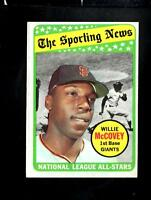 1969 Topps # 416 Willie McCovey AS EX