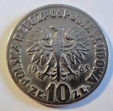 Polen / Polska / Poland - 10 Zloty - 1965 - Kopernikus -  fast stgl / unc