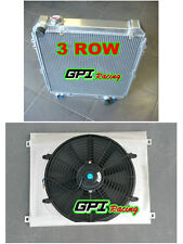 Aluminum Radiator +shroud +fan Toyota Hilux surf KZN130 1KZ-TE 3.0 TD 1993-96