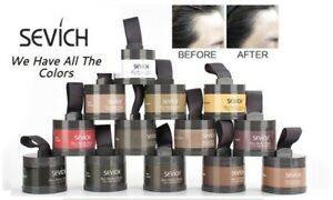 Sevich Waterproof Hair Powder Concealer, Root Touch Up Volumizing Cover up