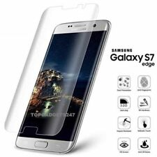 100%25 Genuine tempered glass screen protector for Samsung Galaxy S7 Edge - Clear