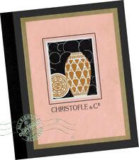 Dinanderies de Christofle Cie 1930 Paris CATALOG Art Deco Metal Ware Brass Decor