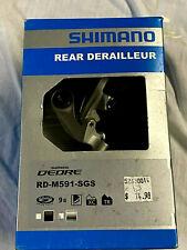Shimano Deore 9 Speed Rear Derailleur RD-M591 SGS Brand New !!!