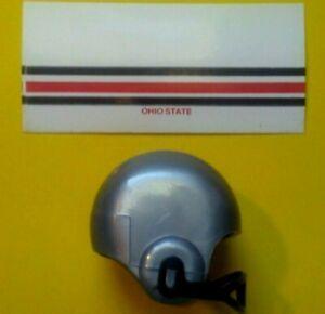 1970 NCAA Vintage OHIO State Buckeyes mini gumball football helmet decal college