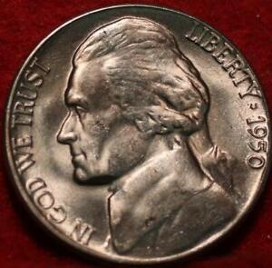 1950-D Denver Mint Jefferson Nickel Not Silver