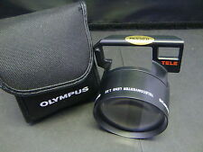 Olympus Teleconverter 1.3X Lens - Quick Shooter/ AFL-S + Case