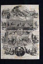 In viaggio da Liverpool a Filadelfia Incisione del 1876