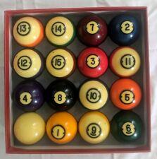 Brunswick Centennial Billiard Balls, Jim Rempe Training Balls + Accessories