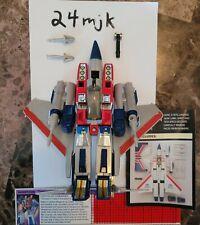 Transformers g1 starscream complete hasbro takara decepticon
