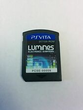 PS Vita Lumines Electronic Symphony Game
