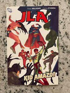 JLA Kid Amazo! DC Comics Graphic Novel Comic Book TPB Batman Superman Flash J587