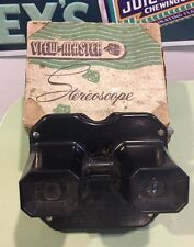Vintage Bakelite View-Master Stereoscope In Original Box