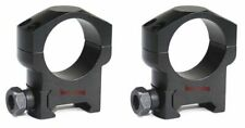 Tactical 30mm Medium Weaver Mount Rings Fit Night Force Leupold Rifle Scopes