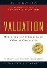 eText:Valuation: Measuring and Managing the Value of Companies (Not a paperback)