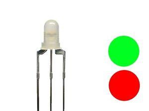 Grün 5 mm gem = 5 pcs LED Rot Kathode 5 DUO