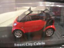1/43 METAL SMART CITY CABRIOLET ROUGE !!!!!!