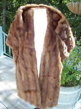 Mink Cape Stole Peltas Los Angeles vintage retro Hollywood Glamor